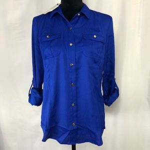 Women's Dana Buchman Long Sleeve Top Blouse